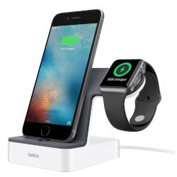 DOCK, APPLE WATCH/iPHONE WHITE