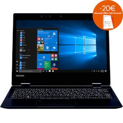 Toshiba Portege X20W-D-10Q Laptop (Core i5 7200U/8 GB/256 GB/HD Graphics)