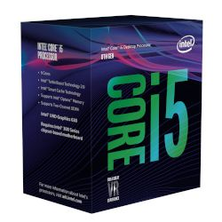 Intel CPU Core i5 8400 (1151/2.8 GHz/9 MB)