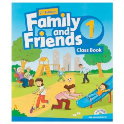 Family & Friends 1 Students Book & Reader (+Multi-Rom) 2nd Edition 2017