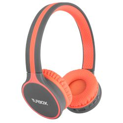 Headphones Bluetooth 4.1 Turbo-X Habit Κοραλί