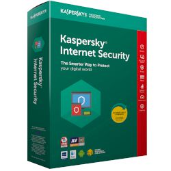 Kaspersky Internet Security 3 άδειες, 1 έτος