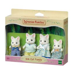 Sylvanian Families Silk Cat Family