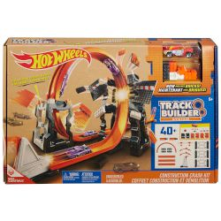 Hot Wheels Track Builder System Constr Crash Kit
