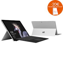 Microsoft Surface Pro (Gen 5) i5 μαζί με Keyboard Laptop (Core i5 7300U/4 GB/128 GB/Intel HD Graphics 620)