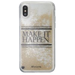 Θήκη Cellular Back Cover για iPhone X Με σχέδιο,Make it Happen