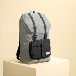 1fbf8022ff Sentio Τσάντα Πλάτης Urban Black-Grey