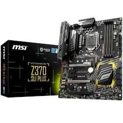MSI Motherboard Z370 SLI Plus (Z370/1151/DDR4)