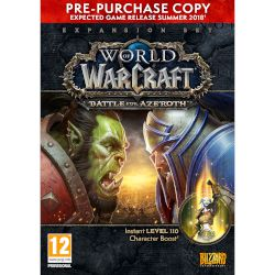 Blizzard World of Warcraft : Battle for Azeroth Pre-Purchase Copy PC