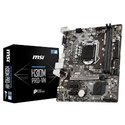 MSI Motherboard H310M Pro-VH (H310/1151/DDR4)