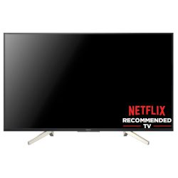 "Sony LED TV KD43XF8505 43"" 4Κ Ultra HD Smart"