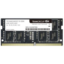 TeamGroup Laptop RAM 4GB 2400 MHz DDR4
