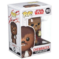 Funko Φιγούρα POP! Chewbacca with Porg