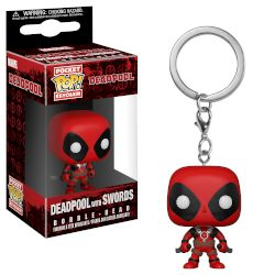 Φιγούρα Funko Pocket POP! Keychain: Marvel - Deadpool with Swords