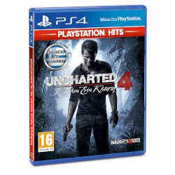 Sony Uncharted 4 A Thiefs End Playstation Hits Playstation 4