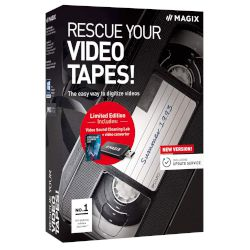 Magix Rescue Your Videotapes + Video Sound Cleaning Lab 1 άδεια,