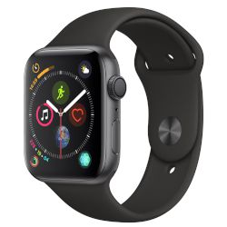 Apple Watch Series 4 44mm Space Gray sport black 8be047defb8