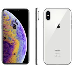 Apple iPhone XS 256GB Silver 4G+ Smartphone