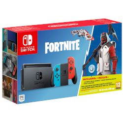 Nintendo Switch Red & Blue + Fortnite