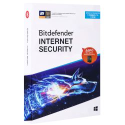 Bitdefender Internet Security 1 άδεια (+1 Android), 1 έτος
