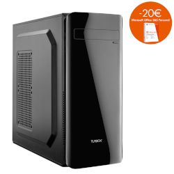 Turbo-X Sphere SK305 Desktop (AMD Ryzen 5 2400G/8 GB/1 TB HDD//Radeon Vega 11)