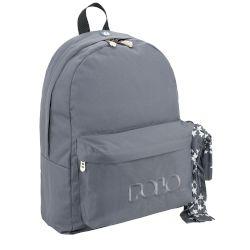 6fa0c37d8b8 Polo Τσάντα Σχολική Original Knit Grey