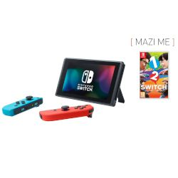Nintendo Nintendo Switch Red&Blue + 1-2 Switch