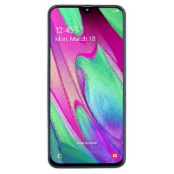 Samsung Galaxy A40 64GB DS 4G Smartphone Λευκό