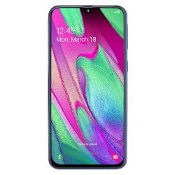 Samsung Galaxy A40 64GB DS 4G Smartphone Μπλε
