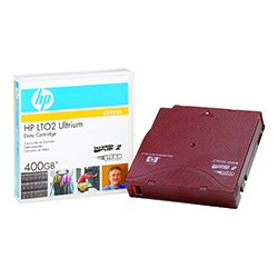 HP Data Cartridge LTO-2 200/400GB C7972A