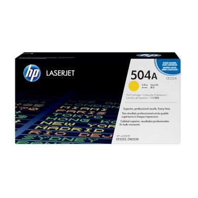 Toner HP 504A Yellow