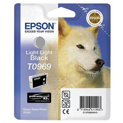 Μελάνι Epson T0969 Light light Black