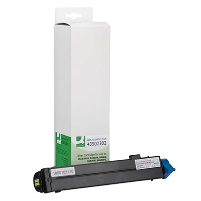 Toner Q-Connect Συμβατό 43502302 Black
