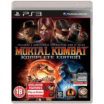 Warner Mortal Kombat Komplete Edition  PS3