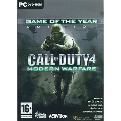 Activision Call of Duty 4 : Modern Warfare GOTY PC