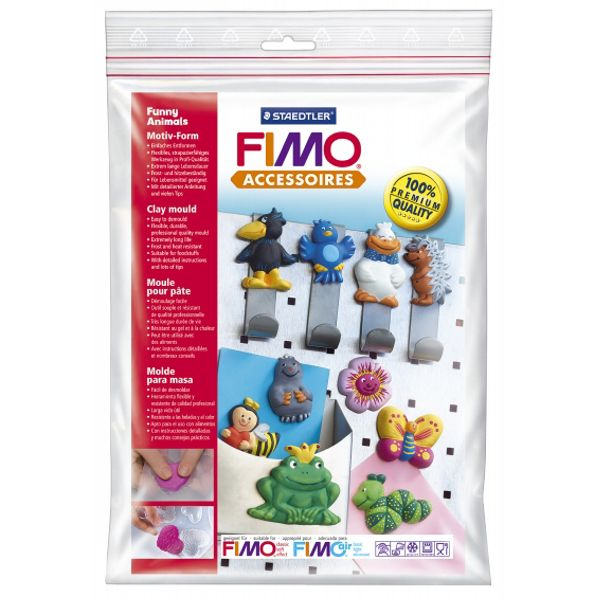 "Καλούπι ""Funny Animals"" Fimo"