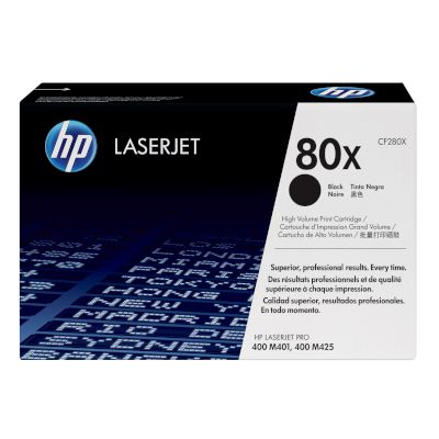 Toner HP 80X Black