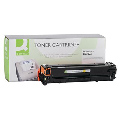 Toner Q-Connect Συμβατό CE322A Yellow