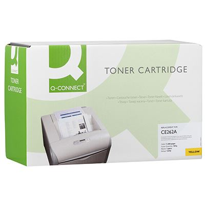 Toner Q-Connect Συμβατό CE262A Yellow