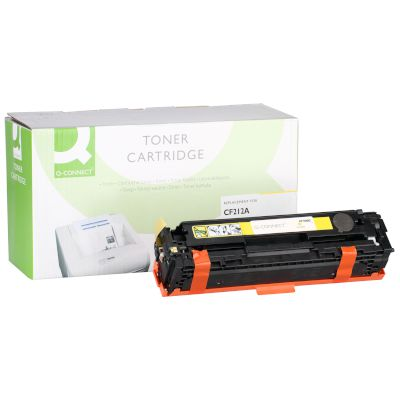Toner Q-Connect Συμβατό CF212A Yellow