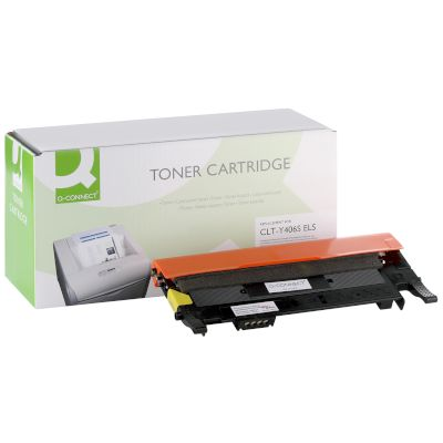 Toner Q-Connect Συμβατό CLT-Y406S Yellow