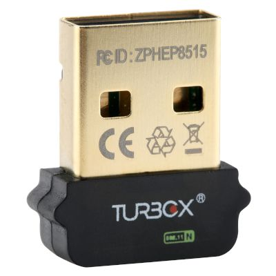 Turbo-X WiFi USB Adapter N150 WLN2-150 Micro
