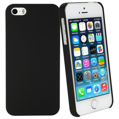 Θήκη Sentio Back Cover για iPhone 5/5s/SE Μαύρη