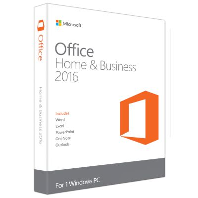 Microsoft Office Home&Business 201632-bit/x64 Eng PKC