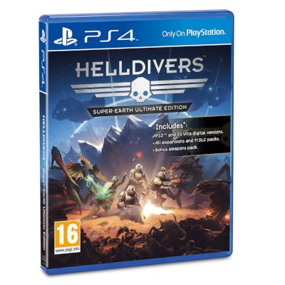 Sony Helldivers Super- Earth Ultimate Edition Playstation 4