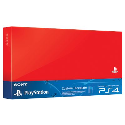 HDD Cover Red PS4