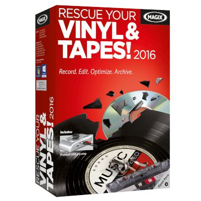 Magix Rescue your Vinyl & Tapes 2016