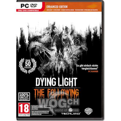 Warner Dying Light The Following Enhanced Edition PC