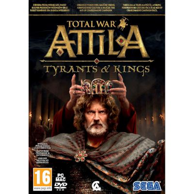 Sega Total War: Attila Tyrants And Kings PC