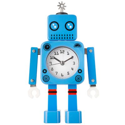 Robot Alarm Clock Blue